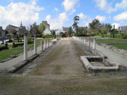 Quartier commercial gallo-romain de Corseul, capitale des Coriosolites (cliché Eva DEGL'INNOCENTI).Sitarmor