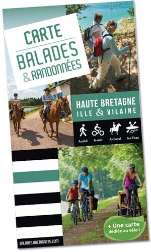 Carte Balades et randonnées