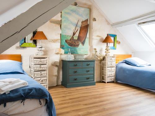 Salamandre cottage à St-Briac-sur-Mer Chambre Camélia