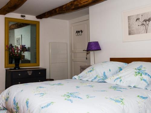 Salamandre cottage à St-Briac-sur-Mer Chambre Lilas
