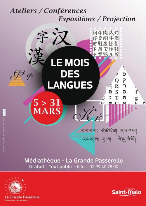 Le mois des langues - Saint-Malo - 5au31mars2019