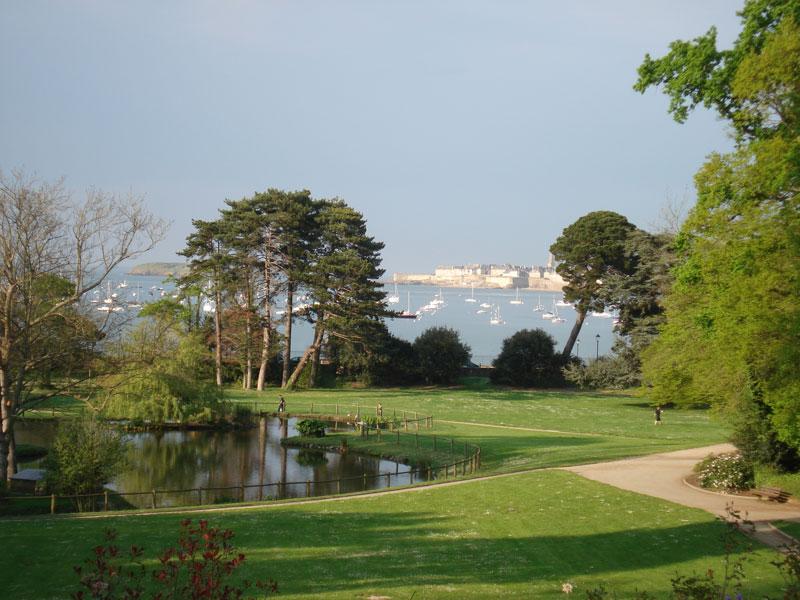 Parc de port breton dinard parc et jardin bretagne cdt haute bretagne ille et vilaine 35 - Dinard office du tourisme ...