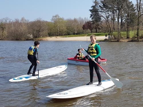Paddle étang Aumée