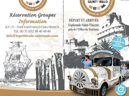 LE PETIT TRAIN DE ST MALO VISITES COMMENTÉES