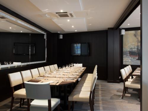 Restaurant l'amiral à Rennes